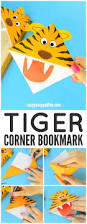 Tiger Corner Bookmarks Diy Origami For Kids Easy Peasy And Fun