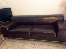 Ikea Sofa Leather Leather Sofa Delhi Www Napma Net