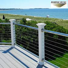cable railing maryland cable railing installation deck and