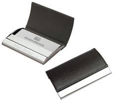 Pocket Business Card Holder Metal Aluminum Alloys Pocket Business Name Credit Id Card Holder Metal
