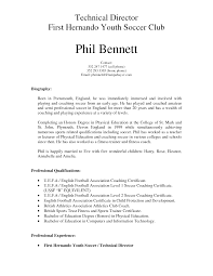 Sample Athletic Resume by Best Ideas Of Soccer Coach Resume Sample On Download Proposal
