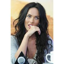 megan fox long wavy free style full lace wigs top quality