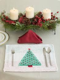 xmas tree on table christmas in july 2015 christmas tree pine tree knitting