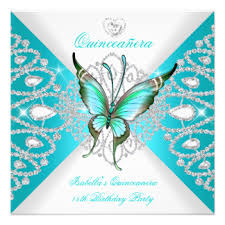 Butterfly Invitations Blue Butterfly Invitations U0026 Announcements Zazzle