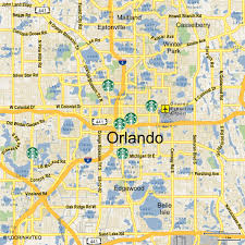Map Of Orlando by Are Maps The Key To Unlocking Higher Marketing Conversion Rates