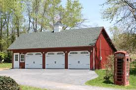 custom built four car garage prices