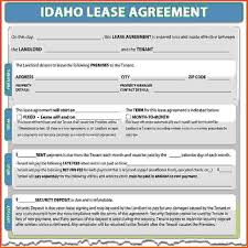 Free Lease Agreement Free Lease Agreement Forms Sponsorship Letter