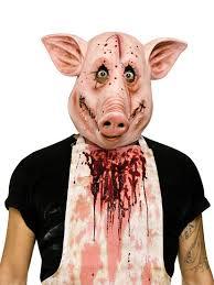 latex masks halloween 93246 psycho pig mask large jpg 825 1 100 pixels masks