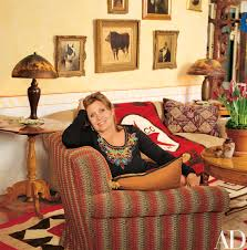 take a look inside carrie fisher u0027s spanish style residence in