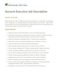 resume for accounts executive account executive job description 1 728 jpg cb u003d1354714868