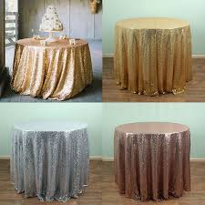 48 Round Tablecloth Gold Round Linen Tablecloth Promotion Shop For Promotional Gold