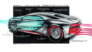 bugatti car drawing is this crashed bugatti chiron a test car autoevolution