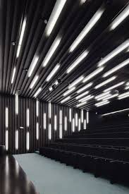 decorative acoustic wall panel allen theatre by westlake reed