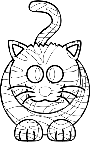 tiger coloring book colouring sheet coloring book colouring page