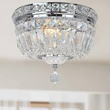High Quality Chandeliers Lighting Design Ideas Small Semi Flush Mount Crystal Lighting