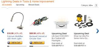 amazon black friday lightning deasl holiday tool sales