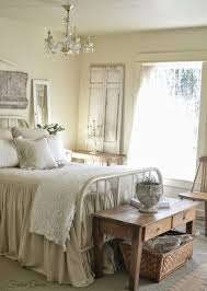 Chic Bedroom Ideas Farmhouse Bedroom Salvaged Architectural Pieces And Mismatched