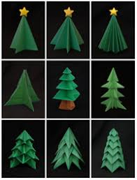 How To Make Origami Greeting Cards - tree