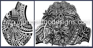 polynesian tattoos meaning symbols