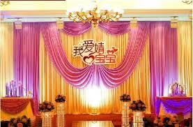 wedding backdrop canopy 3m 6m fabric satin drape curtain wedding backdrop canopy ribbon