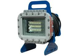 explosion proof led work light portable explosion proof certified led pedestal light fire apparatus