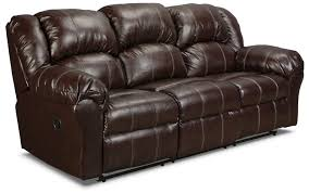 leather reclining sofa loveseat decker reclining sofa brown levin furniture