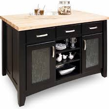 jeffrey kitchen islands jeffrey contemporary kitchen island with maple edge