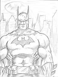 batman sketch vulcanenki deviantart