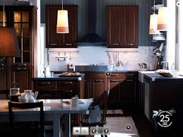 photos of kitchens with dark cabinets with hard wood floors