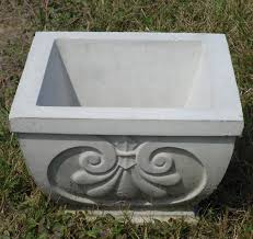 concrete planters concrete planters patio planters outdoor planters the cement