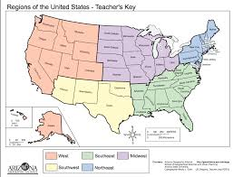 Ap World History Regions Map by Map Regions Of The United States Thirdgradetroop Com