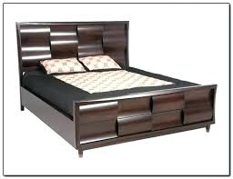 california king platform bed frame with storage build king storage