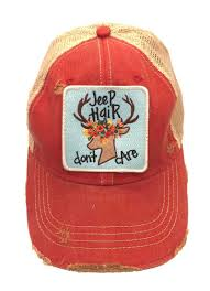 jeep hat judith march jeep hair don u0027t care trucker hat 930h 62