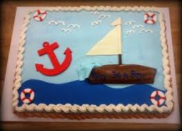 nautical baby shower cakes baby shower trefzger s bakery