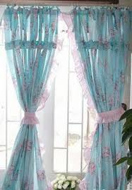 Shabby Chic Window Panels by Shabby Chic Blue Rose Curtain Blue Roses Shabby And Rose
