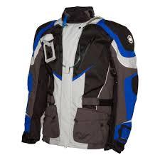 blue motorcycle jacket adventure motorcycle jacket waterproof armored comes in ktm orange