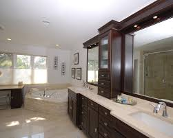 Best Dark Bathroom Cabinets Images On Pinterest Bathroom - Dark wood bathroom cabinets