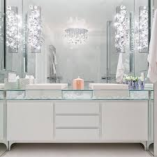 glass top vanity contemporary bathroom modern declaration