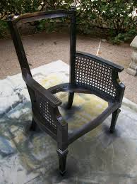 How To Reupholster A Side Chair Part 1 How To Reupholster An Occasional Chair With Cane Sides