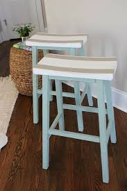 Saddle Seat Bar Stool Saddle Seat Bar Stools Furniture Makeover Bar Stools And Paint