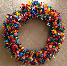 balloon wreath s block party crafty cottage inspired