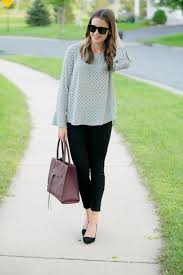 pleione blouse wear to work bell cuff high low blouse the styled press