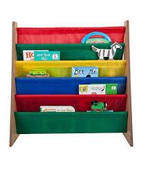 Small Bookshelf For Kids Amazon Com Saganizer 5 Pockets Book Shelf And Magazine Rack