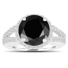 Black Diamond Wedding Rings by Jewelry By Garo Handmade Fine Jewelry In Nyc Diamond Rings