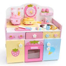 childrens wooden kitchen furniture rakuten pastel ticktack kitchen of the garden wooden