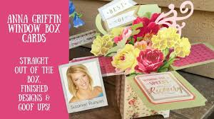 Anna Griffin Card Making - anna griffin window box card making kit u0026 my projects plus goof