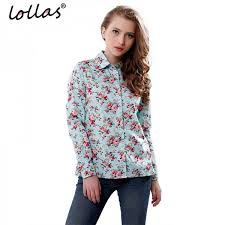 print blouses lollas s floral print blouses cotton shirts