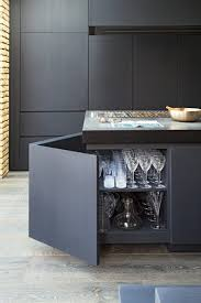 grey kitchen cupboards with black worktop 20 seriously striking chic and contemporary grey kitchen