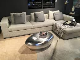 river stone coffee table riverstone coffee table 42 in silver leaf finish as shown on