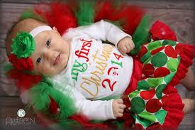 my christmas baby girl items similar to 2015 my christmas baby s 1st